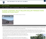Illegal Logging: Multi-Billion Dollar Transactions Hiding in Plain Sight