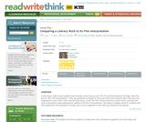 Comparing a Literary Work to Its Film Interpretation