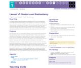 CS Principles 2019-2020 1.10: Routers and Redundancy