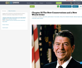 Chapter  20 The New Conservatism and a New World Order