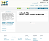 6th Grade PBL - Cultural Differences