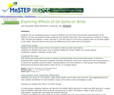Exploring Effects of Oil Spills on Birds