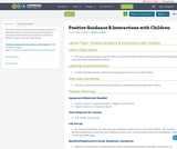 Positive Guidance & Interactions with Children