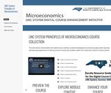 UNC System Microeconomics Digital Course