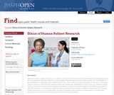 Ethics of Human Subject Research