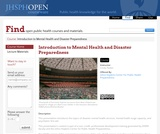 Introduction to Mental Health and Disaster Preparedness