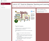 Kenya ICT CFT Course: ICT Tools for Didactive Teaching and Learning