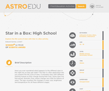 Star in a Box: High School