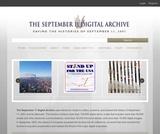 The September 11 Digital Archive
