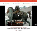 Equestrian Sculpture of Marcus Aurelius