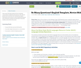 So Many Questions!-English Template, Novice Mid