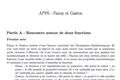 OER-UCLouvain: Apprentissage par problème en mathématiques pour des groupes d'étudiants en apprentissage actif : Fanny et Gaston (les fonctions