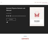 General Physics Remote Lab Manual