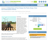A Daily Dose of Sun Keeps the Pests Away: How Soil Solarization Works