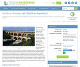 Let's Build an Aqueduct!