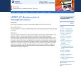 Fundamentals of Atmospheric Science
