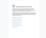 SFUSD Math Elementary School Closure Lessons
