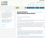 Inquiry Project: Banned Books Week Debate