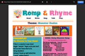 Romp & Rhyme Storytime Parent Activity Sheet: Monster Dudes