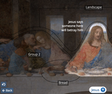 Blue Coral Guide to Da Vinci's The Last Supper