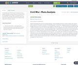 Civil War - Photo Analysis