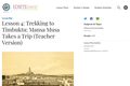 Lesson 4: Trekking to Timbuktu: Mansa Musa Takes a Trip (Teacher Version)