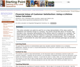 Financial Value of Customer Satisfaction: Using a Lifetime Value Calculator