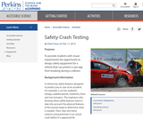 Safety Crash Testing