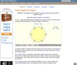 Polygon Interior Angles