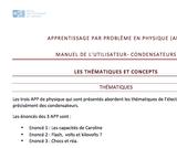 OER-UCLouvain: Apprentissage par problème en physique pour des groupes d'étudiants en apprentissage actif : Condensateurs (électricité)..