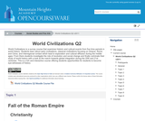 World Civilizations Q2