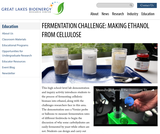 Fermentation Challenge: Making Ethanol from Cellulose