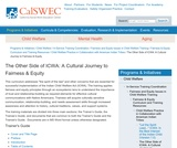 The Other Side of ICWA: A Cultural Journey to Fairness & Equity