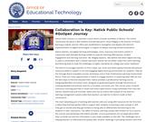 Collaboration is Key: Natick Public Schools' #GoOpen Journey