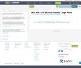 SOC 501 - LOC Matrix Domain Large Print