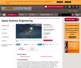 Space Systems Engineering, Spring 2007