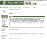 Using Learning Assistants in Oral Assessments