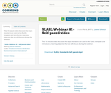 SLASL Webinar #1 - Self-paced video