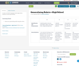 Generalizing Rubric—High School
