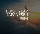 First Year Japanese I