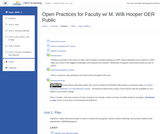Open Practices for Faculty