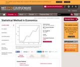 Statistical Method in Economics, Fall 2006