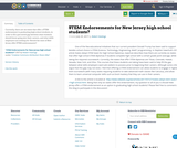 STEM Endorsements for New Jersey high school students?
