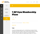 7.RP Gym Membership Plans