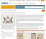 Torn in Two: Mapping the American Civil War