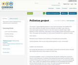 Pollution project