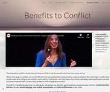 Benefits to Conflict