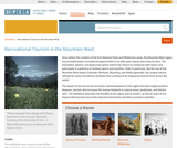 Recreational Tourism in the Mountain West