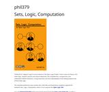 Sets, Logic, Computation