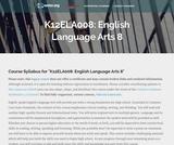 English Language Arts 8